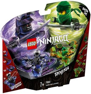 LEGO Spinjitzu Lloyd vs. Garmadon Lego Ninjago, 208 Teile, ab 7+ 70664A1