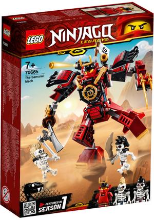 LEGO Samurai-Roboter Lego Ninjago, 154 Teile, ab 7+ 70665A1