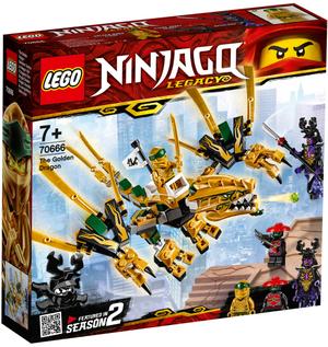 LEGO Goldener Drache Lego Ninjago, 171 Teile, ab 7 Jahren 70666A1