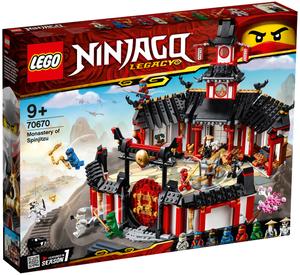 LEGO Kloster des Spinjitzu Lego Ninjago, 1070 Teile, ab 9+ 70670A1