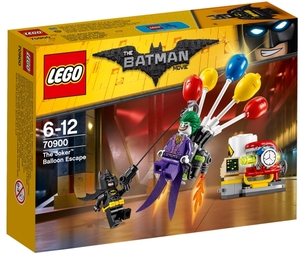 LEGO Jokers Flucht mit den Ballons, Lego Batman Movie, 6-12 Jahre, 124 Teile 70900