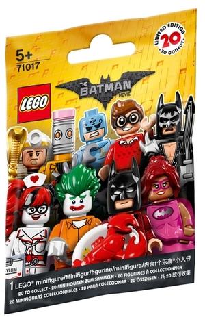 LEGO Minifiguren 2017, Serie 1 Lego, ab 5 Jahren, 7 Teile 71017A2