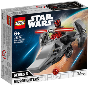 LEGO Sith Infiltrator Microfighter, 92 Teile, Lego Star Wars, ab 6+ 75224