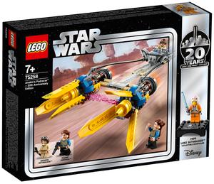 LEGO Anakin's Podracers Lego Star Wars, 279 Teile, ab 7+ 75258A2