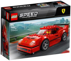 LEGO Ferrari F40 Competizione Lego Speed Champions, 198 Teile, ab 7 Jahren 75890