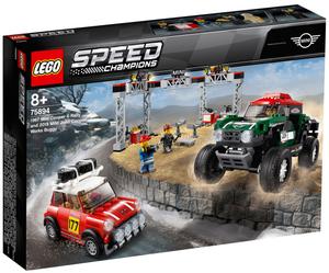 LEGO Rallyeauto 1967 Mini Cooper S und Buggy 2018 Mini John Cooper Works, 481 T. ab 8+ 75894