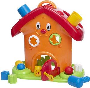 Spielhaus Happy 39 cm Kunststoff 41301576