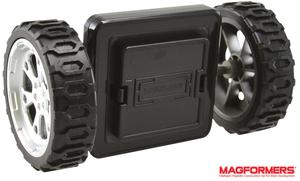 Magformers Click-Wheels Räder-Ergänzungsset passend zu allen Magformersets, 3+ 41527498