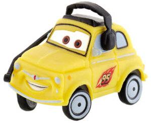Cars 2 Luigi mit Headset 5cm Kunststoff gelb 43012793
