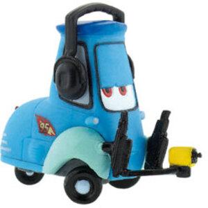 BULLYLAND Cars 2 Guido mit Headset 5cm Kunststoff blau 43012794