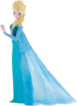 BULLYLAND Elsa, Disney Frozen 9.5 cm, Kunststoff PVC-Frei, naturgetreu und handbemalt 43012961