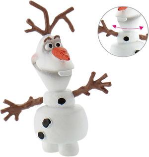 BULLYLAND Olaf, Disney Frozen 4.5 cm, Kunststoff PVC-Frei, naturgetreu und handbemalt 43012963