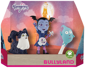 BULLYLAND Vampirina 3-er Pack Geschenk-Set, PVC-frei, handbemalt 43013124