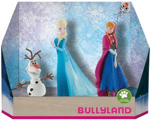 BULLYLAND Frozen Geschenk-Set 3 Stk. PVC-frei, handbemalt 43013446