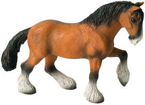 BULLYLAND Shire Horse Wallach 16.2 cm, PVC-Frei, naturgetreu und handbemalt 43062666