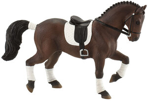 BULLYLAND Dressurpferd Westfale 16.7 cm, PVC-Frei, naturgetreu und handbemalt 43062693