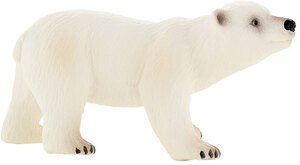 BULLYLAND Eisbär Junges 8 cm, PVC-Frei, naturgetreu und handbemalt 43063538