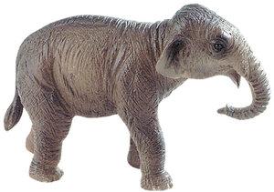 BULLYLAND Indisches Elefantenkalb 9 cm, PVC-Frei, naturgetreu und handbemalt 43063589