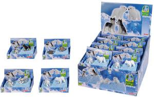 Arctic Tiere 4-fach (eines wird geliefert ass. 43210094