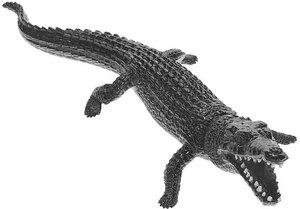 HUMTOYS HUMTOYS Krokodil grün, 30 cm Kunststoff 43350004