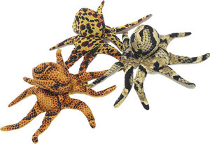 HUMTOYS Sandtiere Octopus midi 12cm, Farben sortiert, HG370 43390025