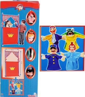 Simba Puppentheater + 4 Handpuppen 45710783
