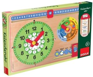 GOULA Kalenderuhr klein, d 30x48 cm, Holz, ab 3 Jahren 45751319