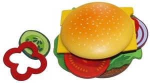 Beluga Beluga Food Bag Hamburger 16x5.5x25.5 cm, 18-teilig, Holz/Filz, ab 3 Jahren 45970884