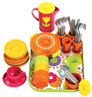 Gowi Speiseservice 40-teilig Geschirr für 4 Personen, Kunststoff, ab 2 Jahren 47445454