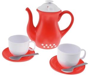 Gowi Teeservice Tea-4-Two 8-teilig, 2 Tassen, Teller 2 Löffel und Krug, im Netz 47445485