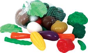 Gowi Gemüse im Beutel zum Aufhängen, 28 Stück, Kunststoff, 5-8 cm 47445603