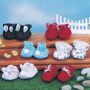 Puppenschuhe 6-fach (eines wird geliefert sortiert für Puppen 42 cm 50120218