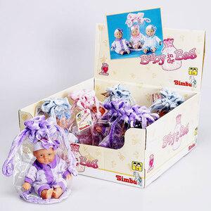 Simba Puppe in Tasche, 3-fach (eines wird geliefert) 50302602