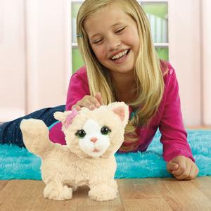 Hasbro Hasbro FurReal Friends Kätzchen hüpfend, ca. 21 cm, Batterien 3xAA (LR06) inkl. 50408024