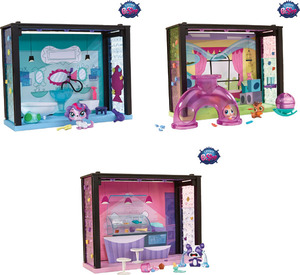 Littlest Pet Shop Littlest Pet Tierchenwelt Style Sets assortiert, inkl. Tierchen, ab 4 Jahren 50441014