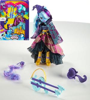 Hasbro Equestria Girls Deluxe Trixi Zauberpuppe mit vielen Accessoires, ab 5 Jahren 50484024