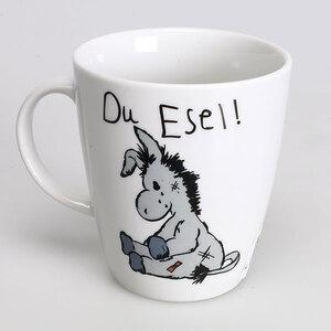 Tasse Kuschel Esel, 10 cm 51185673