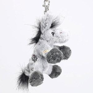 Schlüsselanhänger Esel 13 cm, mit blauem Auge und Pflaster 51189973