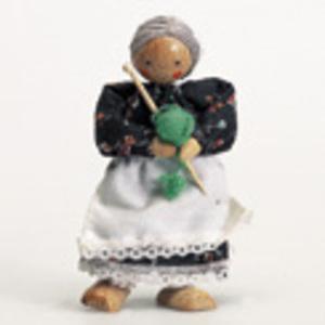 Biegepuppe Grossmutter 12 cm 51820254