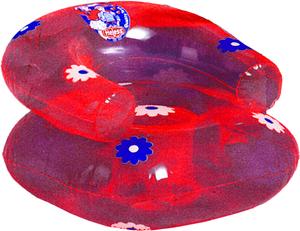 Puppensessel aufblasbar pink 55170501