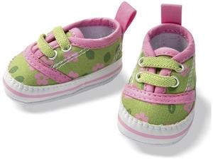 Heless Märchenhafte Schuhe, ass. orange und grün, Puppengrösse 38-45 cm 55500746