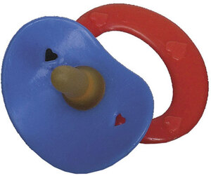 Nuggi mit Gummisauger für Puppen 55510503