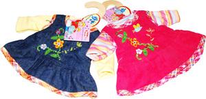 Heless Kleid m.T-Shirt, Gr. 28-33cm 2-fach (eines wird geliefert assortiert Heless 55550151