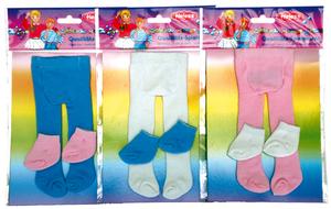 Heless Strumpfhose u. Socken klein Gr. 25-35 cm, assortiert 55550750