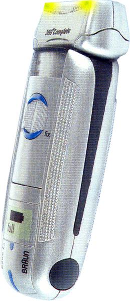 klein Rasierer Braun 12cm batteriebetrieben 55630612