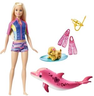 Barbie und tierische Freunde Magie der Delfine, Spielset, ab 3 Jahren 57002163