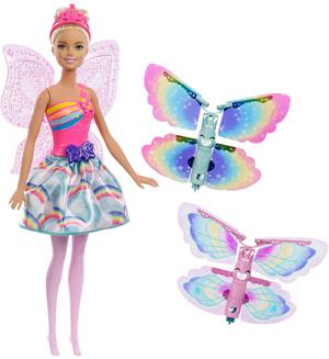 Barbie Magische Flügel-Fee, blond Dreamtopia, Barbie mit Zubehör, ab 5 Jahren 57002208