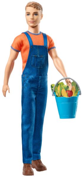 Barbie Farm Ken mit Latzhose, ab 3 Jahren