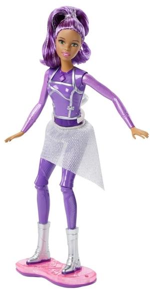Barbie Lights & Sounds Hoverboard Das Sternenlicht-Abenteuer, inkl. Puppe, ab 3 Jahren 57003023