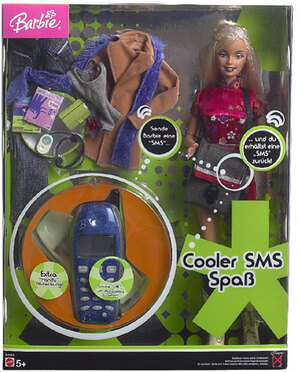 Barbie SMS Barbie, d 15803